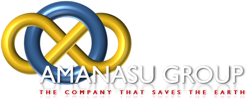 (��ЃV���{���}�[�N) Amanasu Group. The Company that cleans the Earth